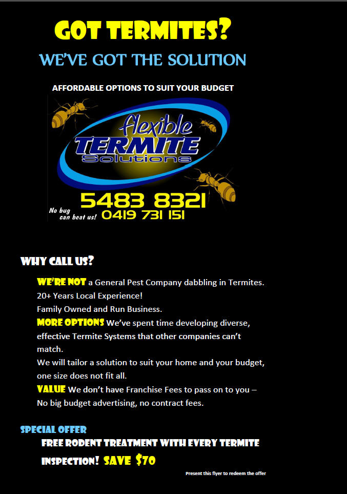Flexible Termite Solutions
